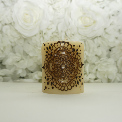 Small Henna Candle - Henna Dil Se