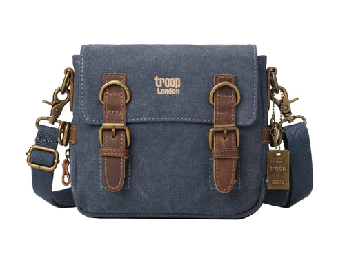 ACROSS BODY CANVAS BAG. TRP0111 TROOP LONDON CLASSIC 539bb8140eab5