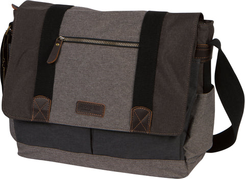 Troop London Urban Padded Computer Messenger Bag Fits 15 Inch Laptop TRP0386