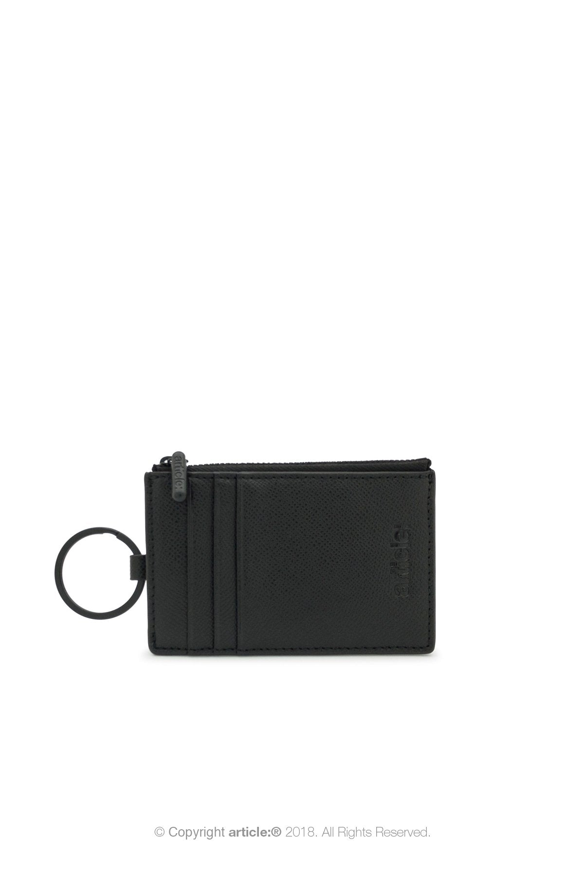 article: #201 Card Holder - Noir