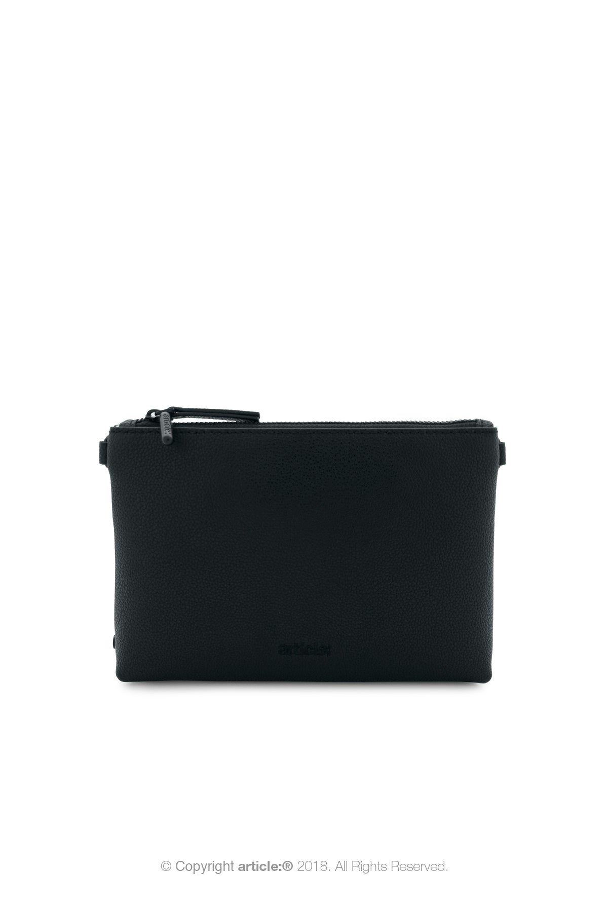 article: #003 Pochette Gusset Men - Noir