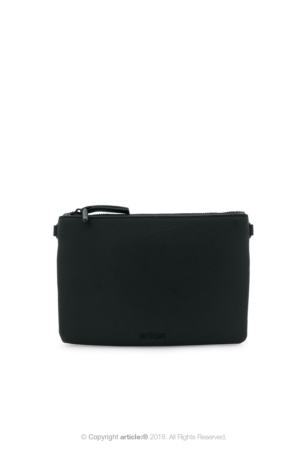 article: #001 Pochette Flat Men - Noir
