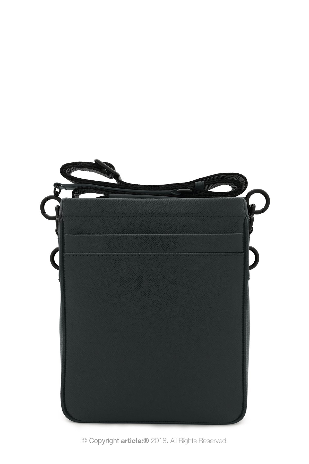 article: #165 Bag Mini Messenger - Noir