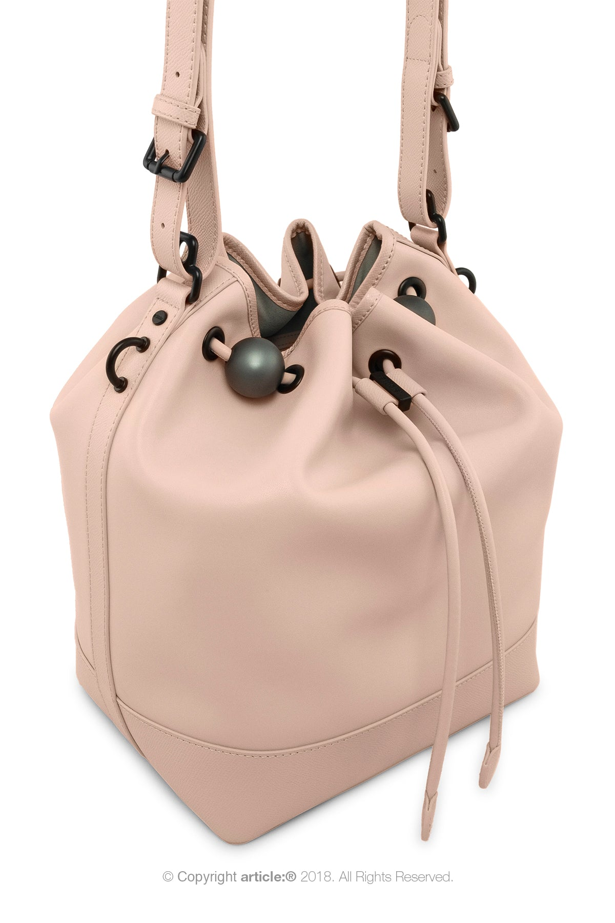 article: #120 Handbag Grande Bucket - Ballet