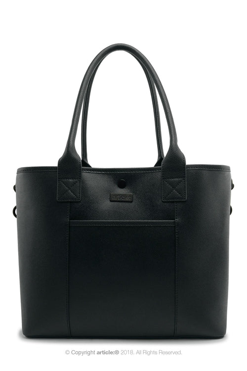 article: #150 Handbag Tote - Noir