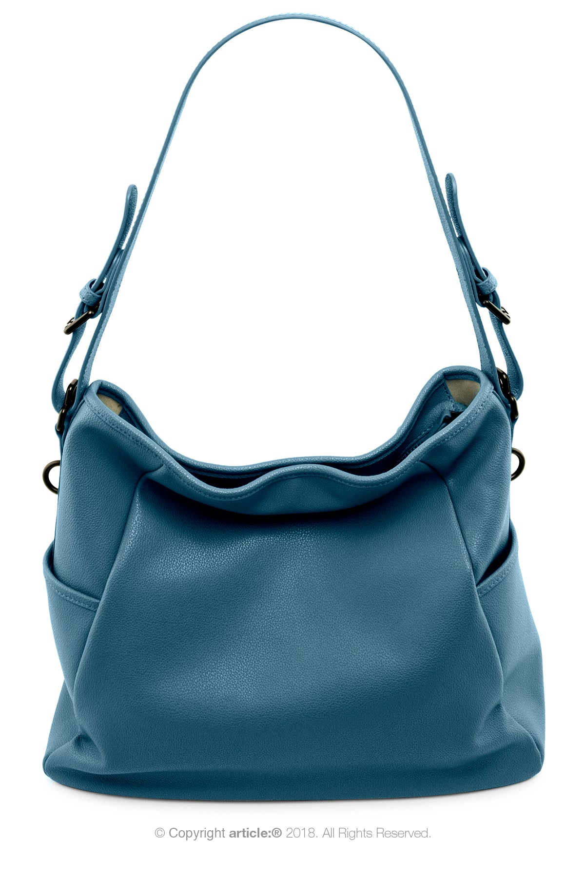 article: #130 Handbag Hobo - Prussian