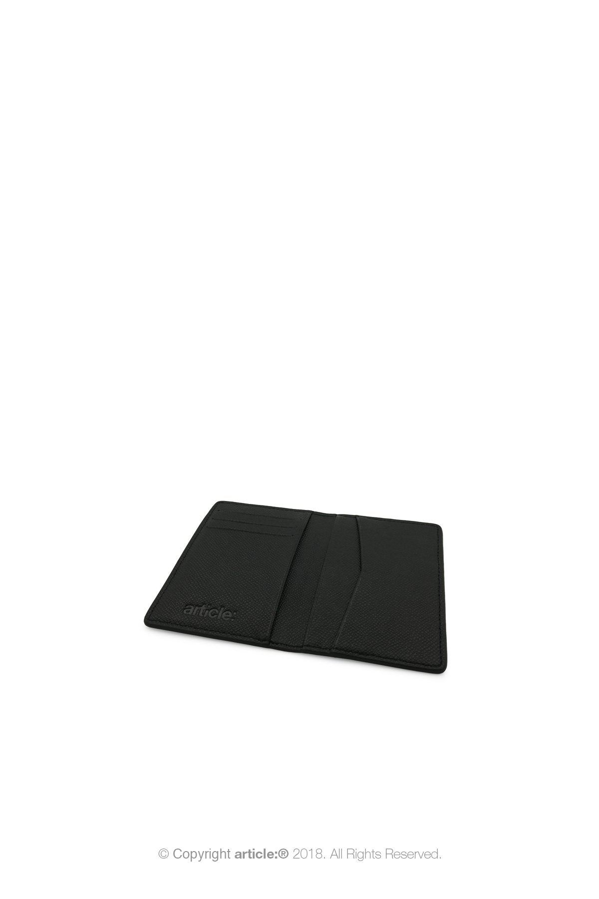 article: #202 Card Holder - Noir