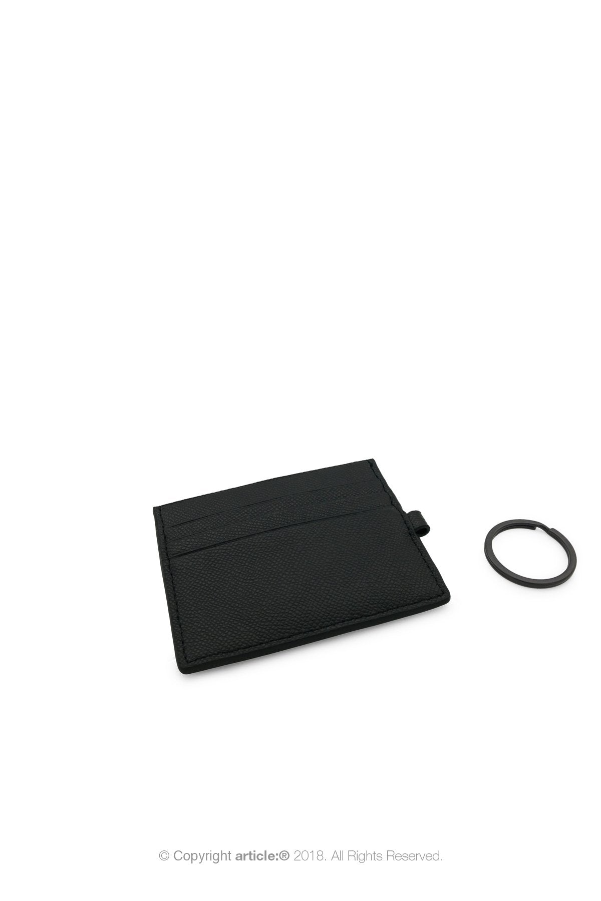 article: #200 Card Holder - Noir