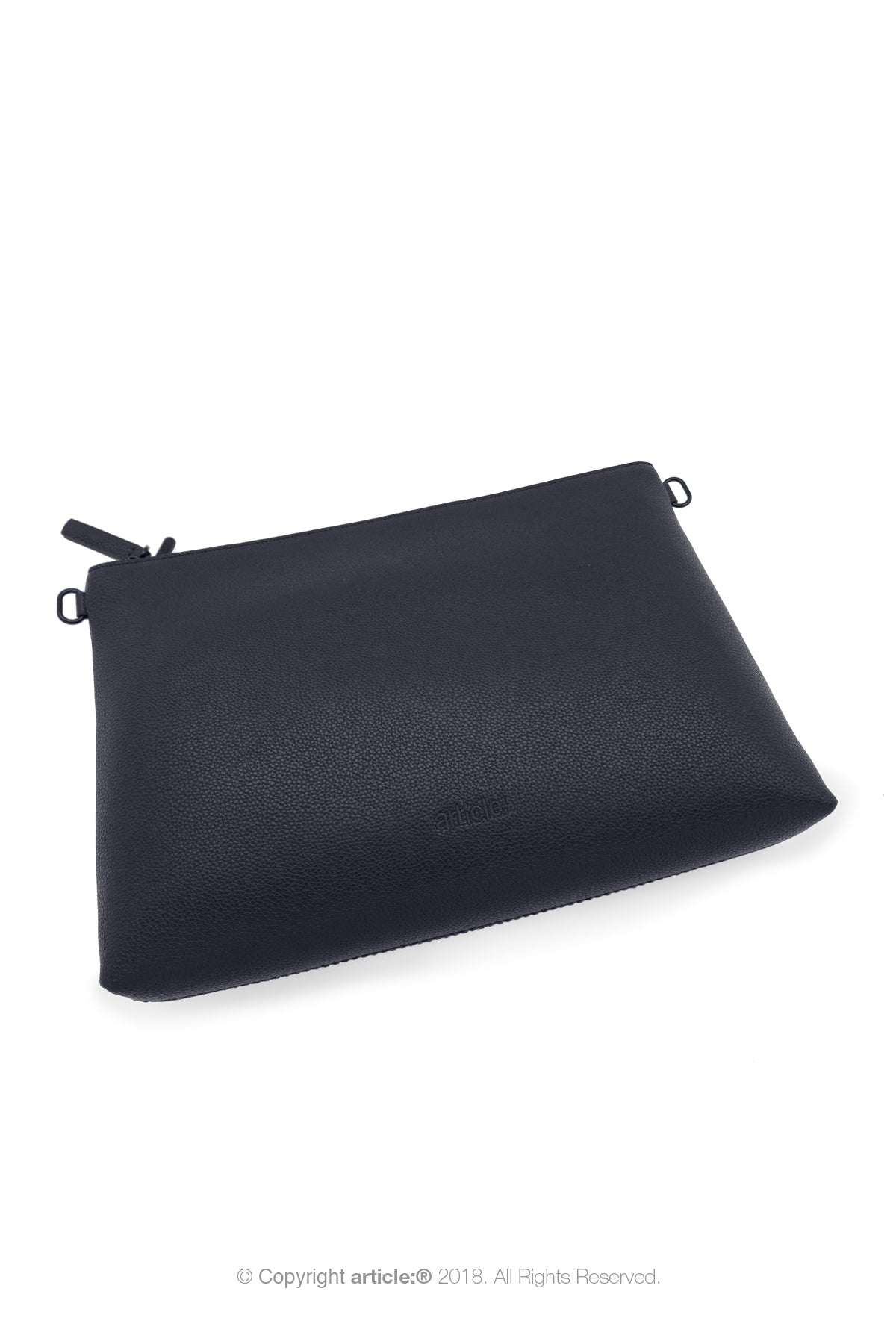 article: #073 Pochette Grande Gusset Men - Indigo