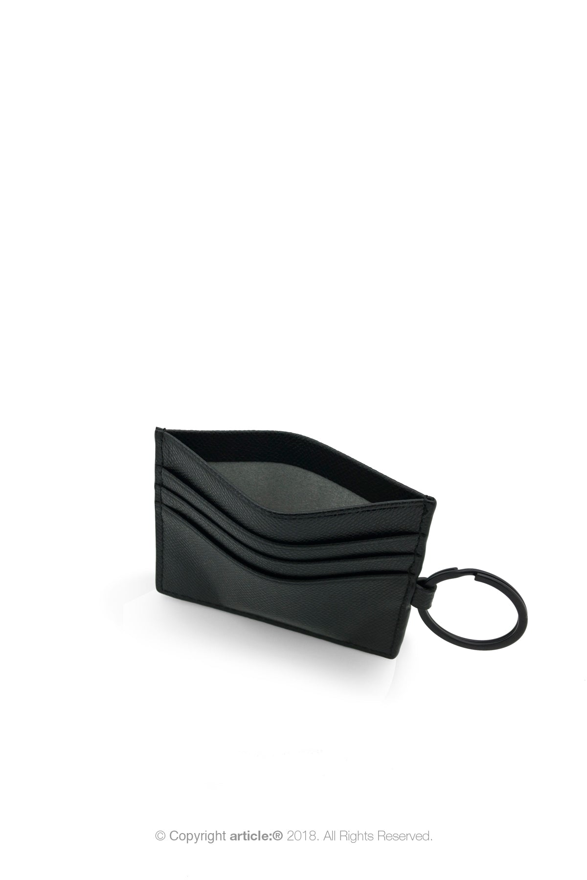 article: #200 Card Holder Men - Noir
