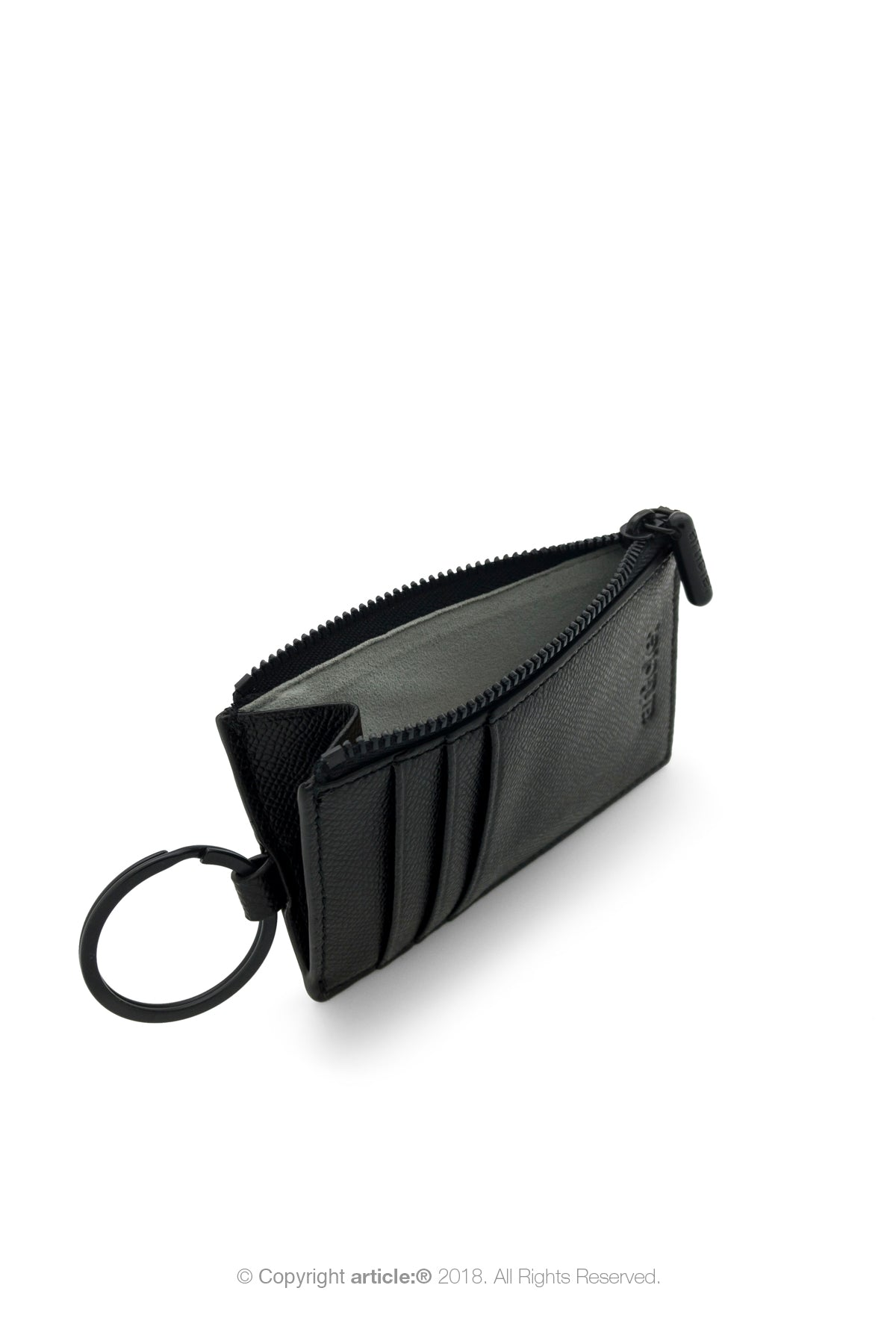 article: #201 Card Holder Men - Noir