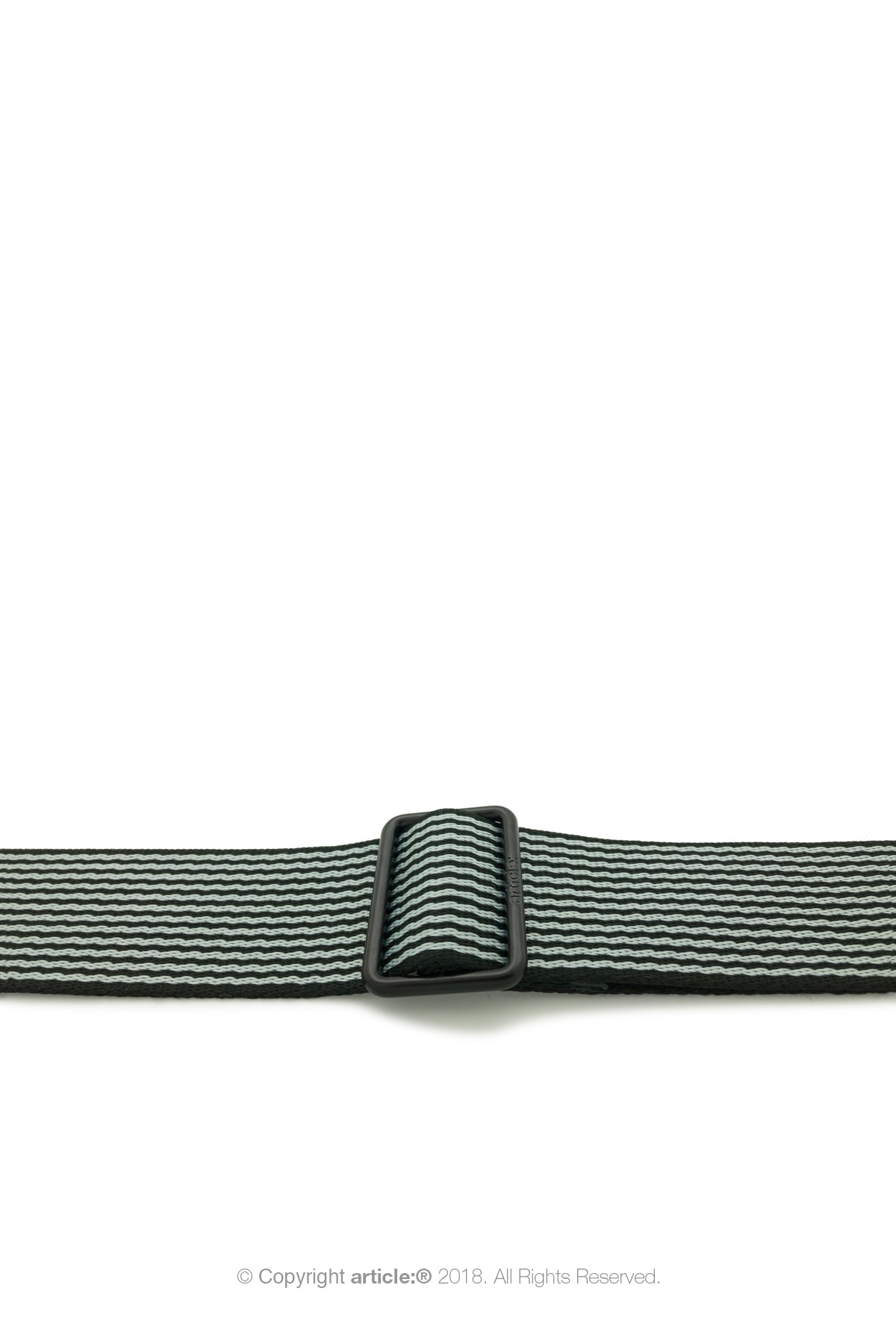 article: #320 Crossbody Strap Men - Stripe