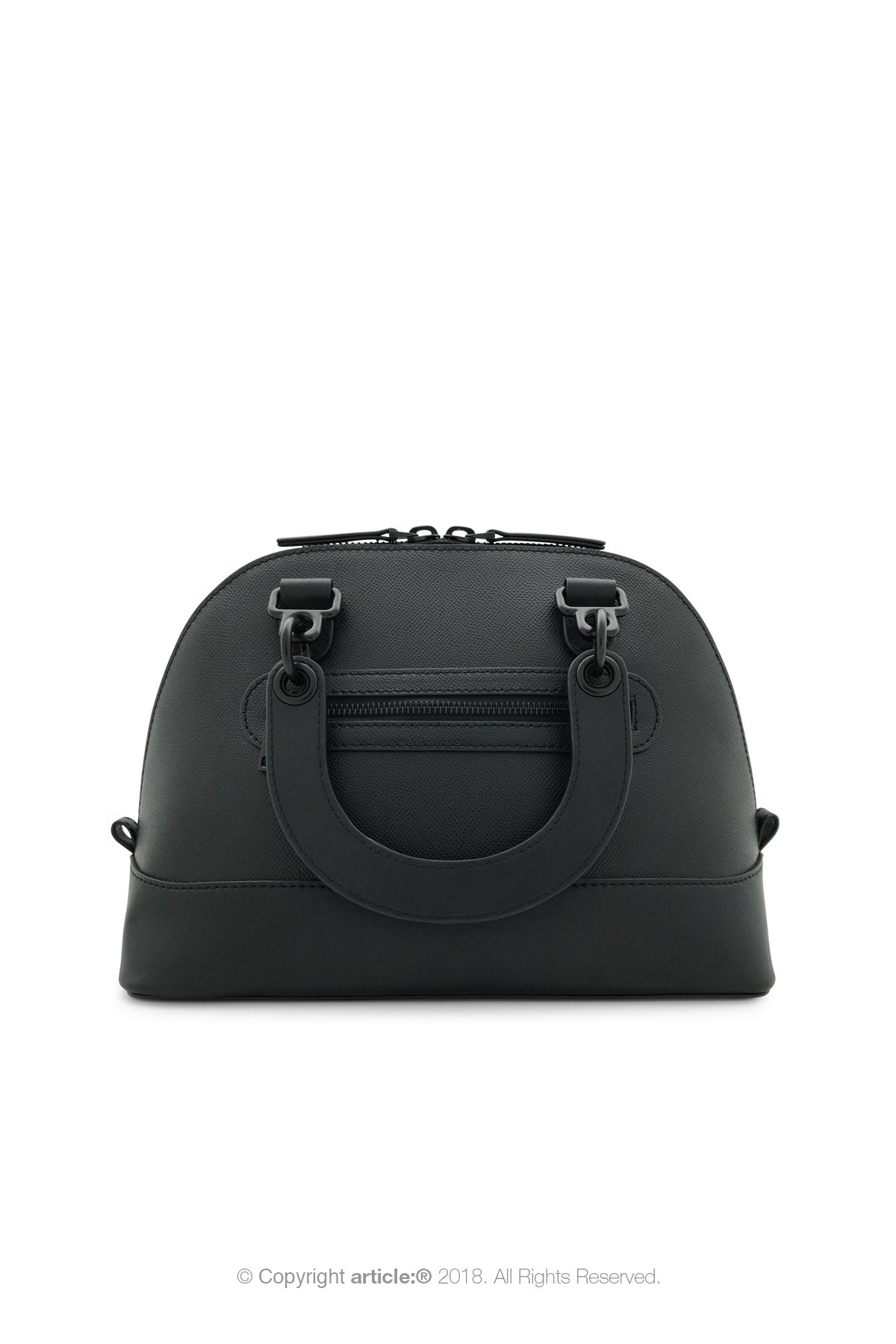 article: #140 Handbag Top Handle - Noir