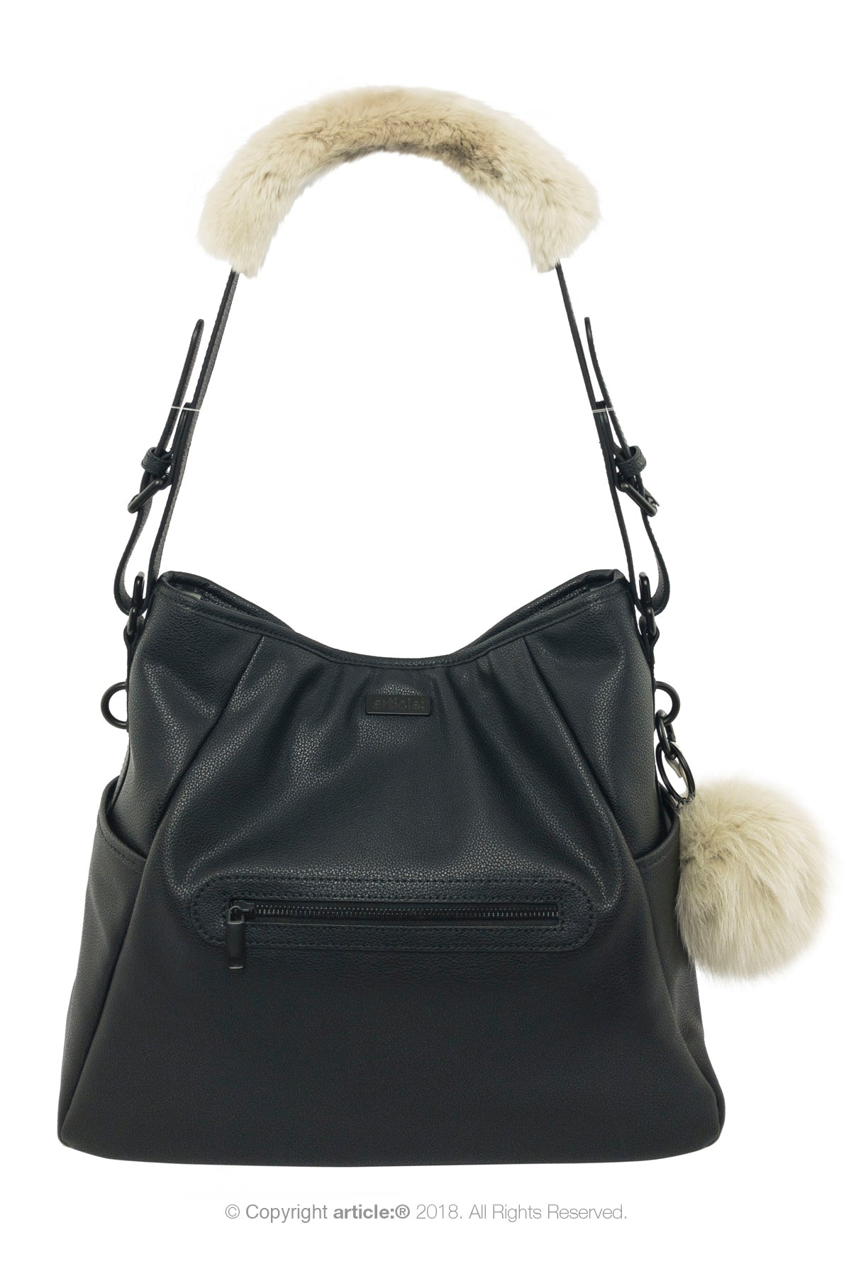 article: #130 Handbag Hobo - Noir
