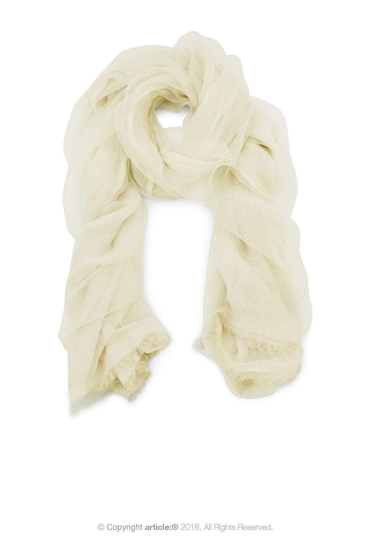 article: #900 Scarf / Wrap - Oyster