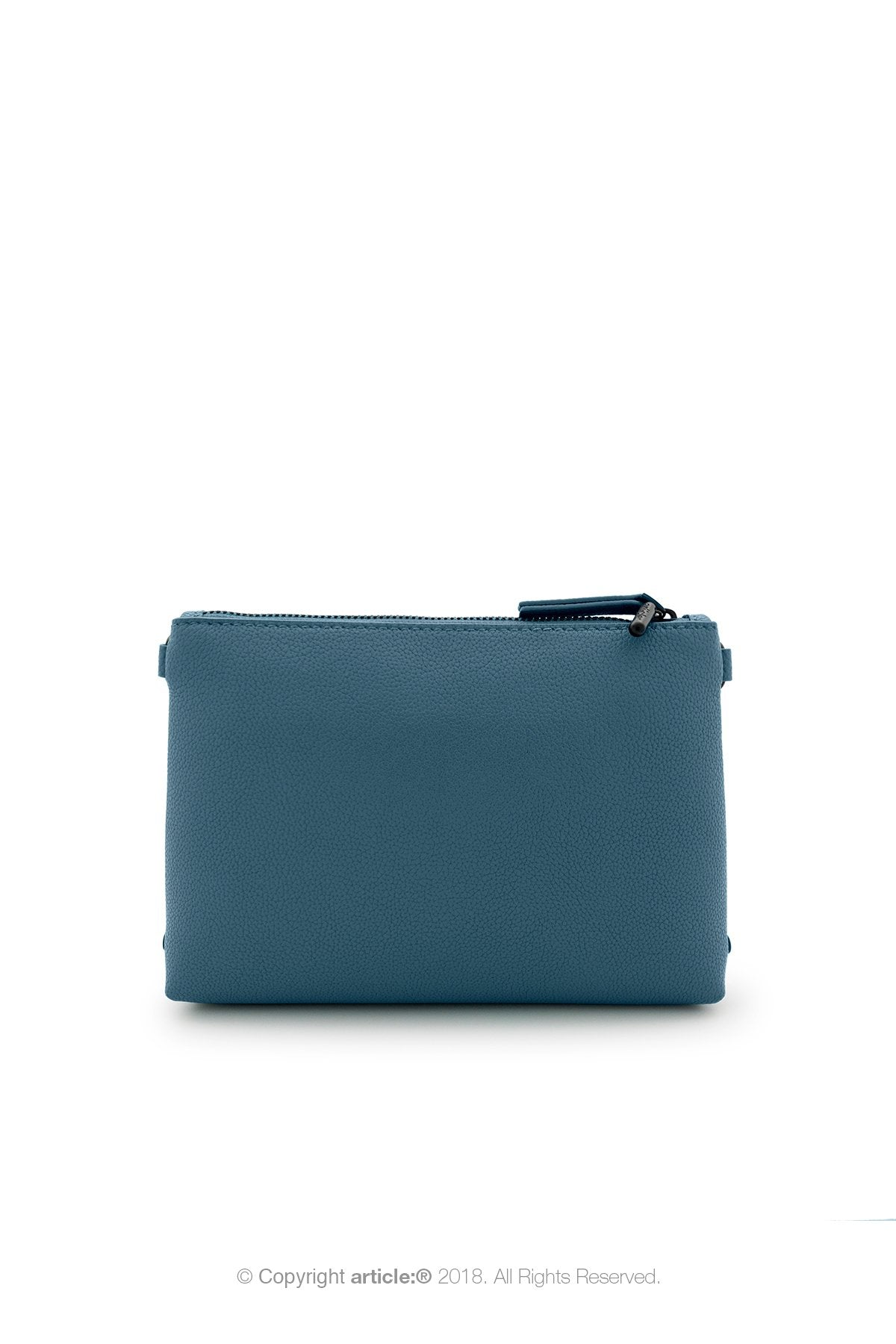 article: #007 Pochette Gusset - Prussian