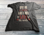 Give Me Coffee, I'll Save The World T-Shirt