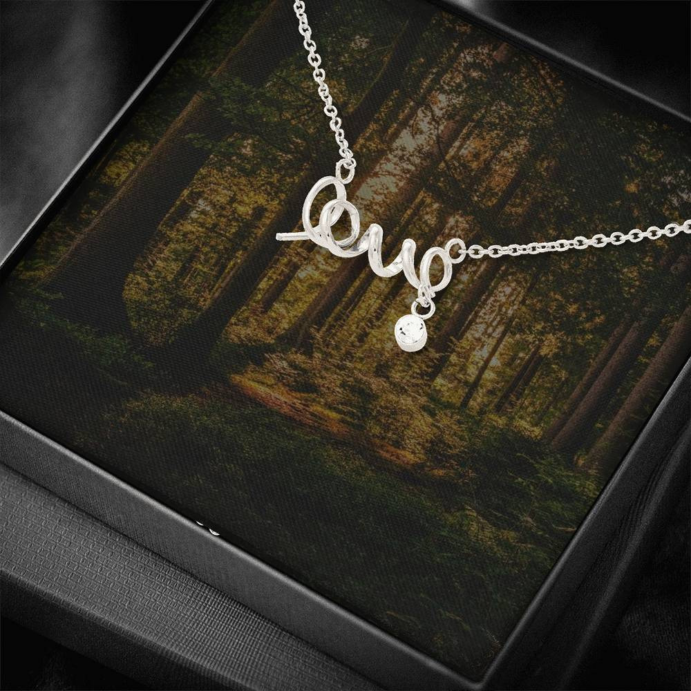 Scripted Love Woods Background