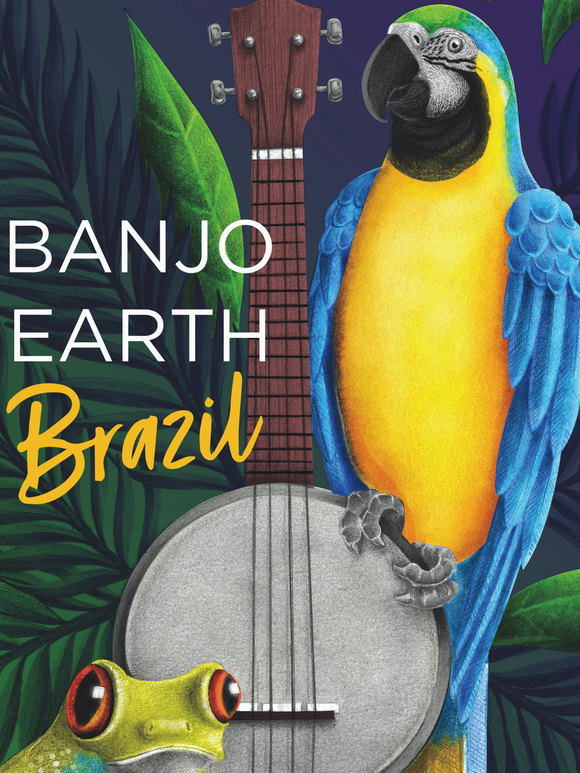 Banjo Earth Brazil Poster (Signed!)