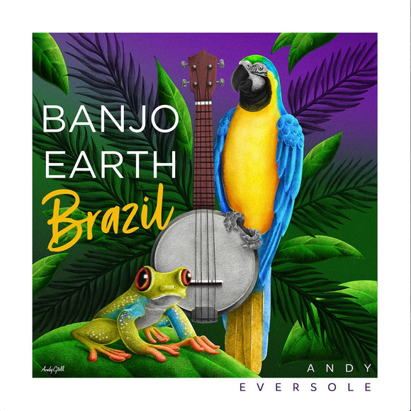 Banjo Earth Brazil Album (CD)