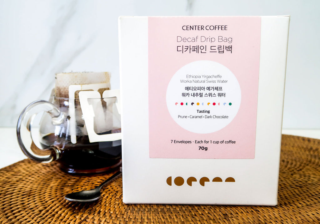 [Center Coffee] Decaf Drip Bag Coffee