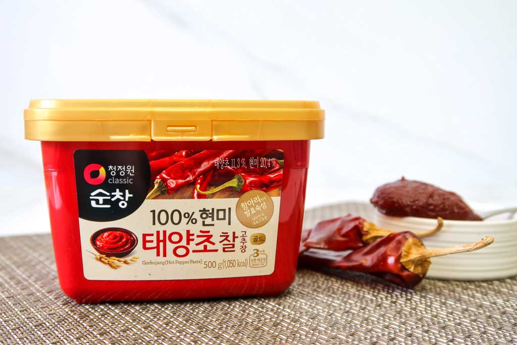 Chung Jung One 100% Brown Rice Gochujang (Gold)
