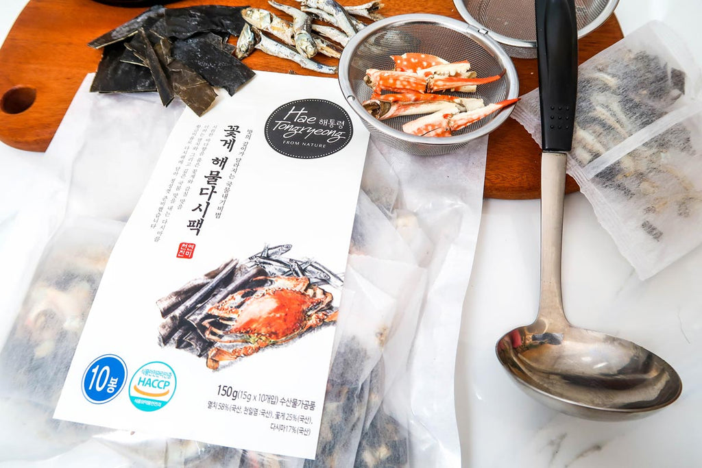 Hae Tongryeong Crab & Seafood Dashima Broth Pack