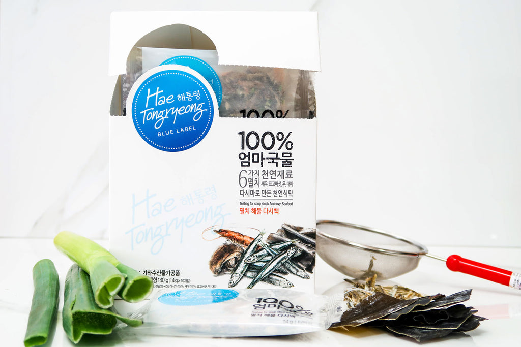 [Hae Tongryeong] Anchovy-Seafood Broth Packs
