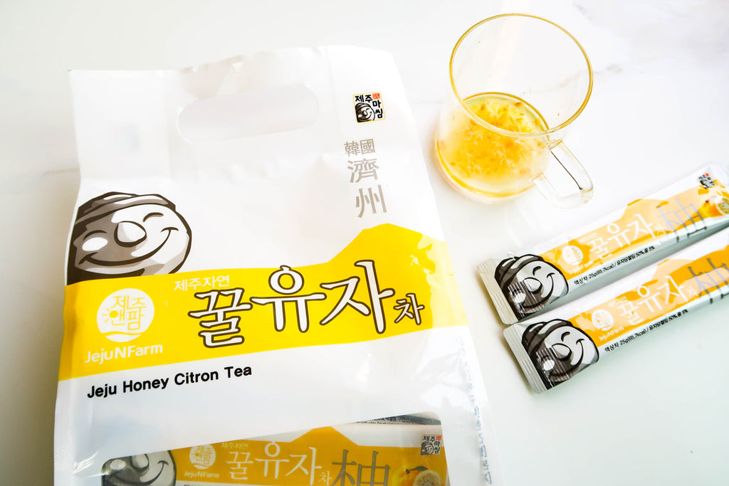 JejuNFarm - Jeju Honey Citron Tea