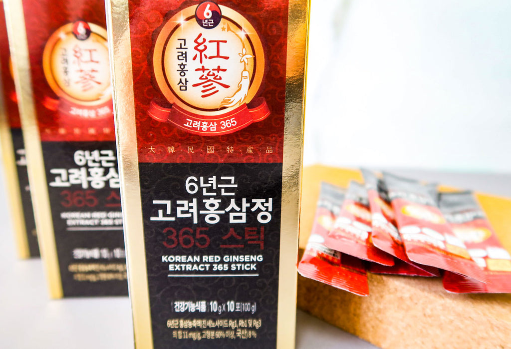 Jeong Won Sam - Red Ginseng Extract Packets