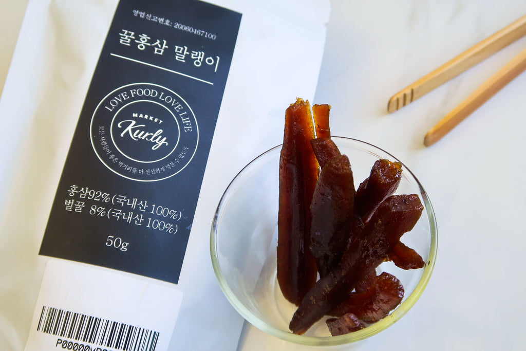 [Market Kurly] Honeyed Red Ginseng Slices