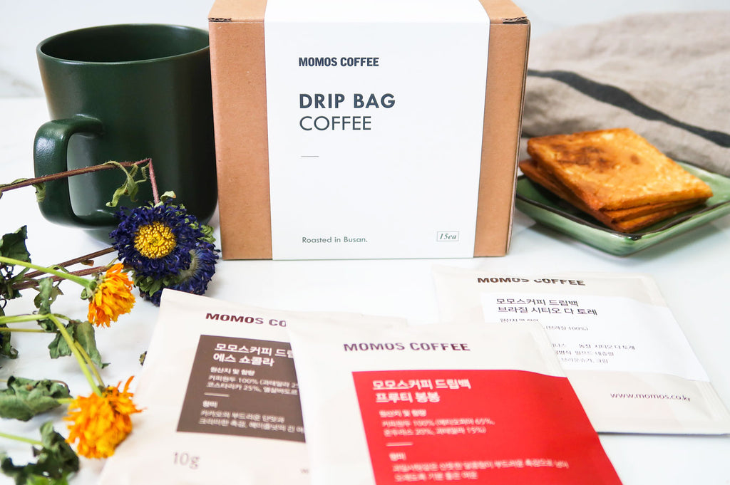 [Momos Coffee] Busan Coffee Drip Bags