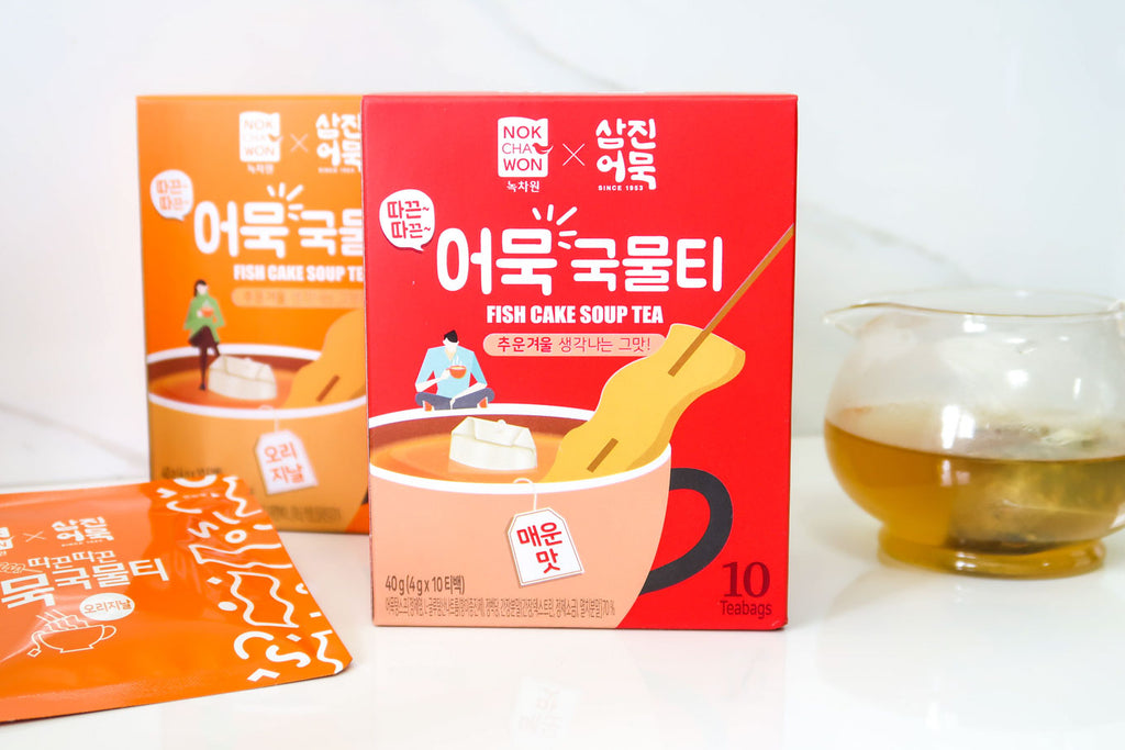 [Samjin Eomuk] Fish Cake Soup Tea
