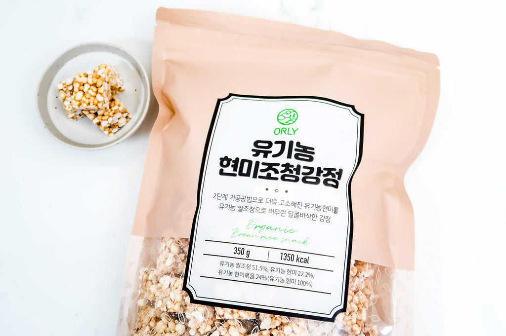 ORLY - Organic Brown Rice Snack