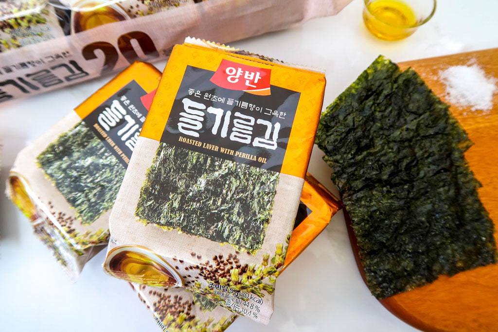 Yangban Roasted Laver with Perilla Oil