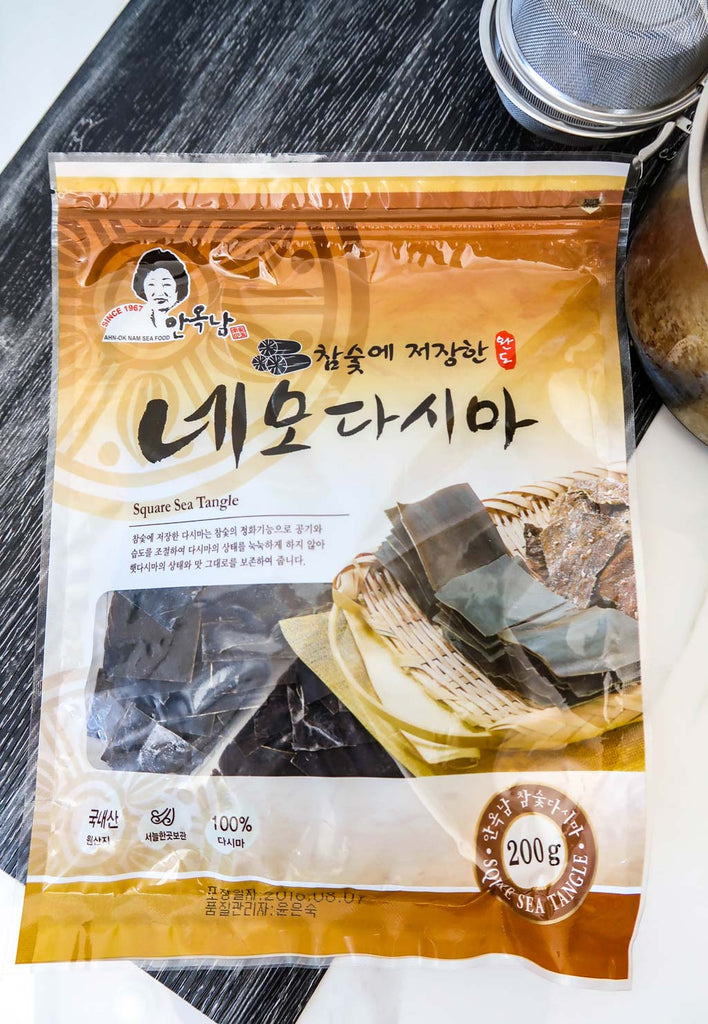 [Ahn-Ok Nam] Charcoal-Dried Dashima Squares