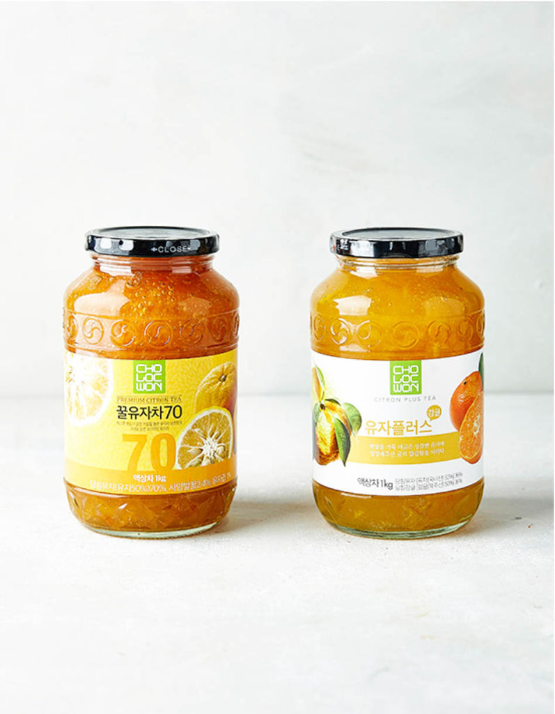 [Cho Loc Won] Korean Tea Marmalades (10 Varieties)