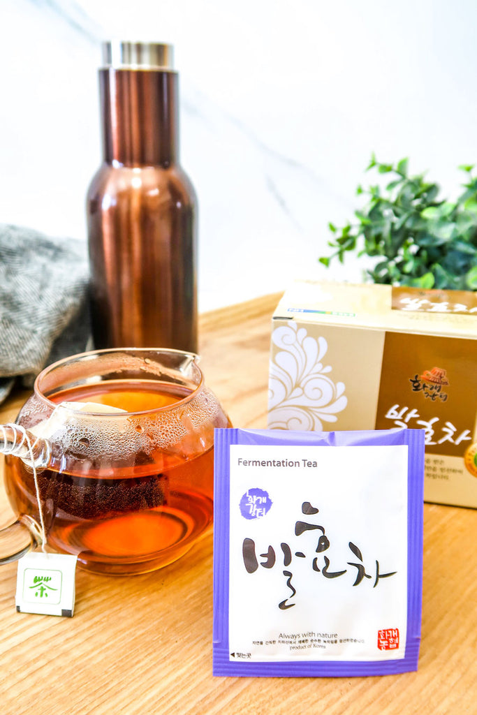 [Nong Hyup] Korean Fermented Green Tea