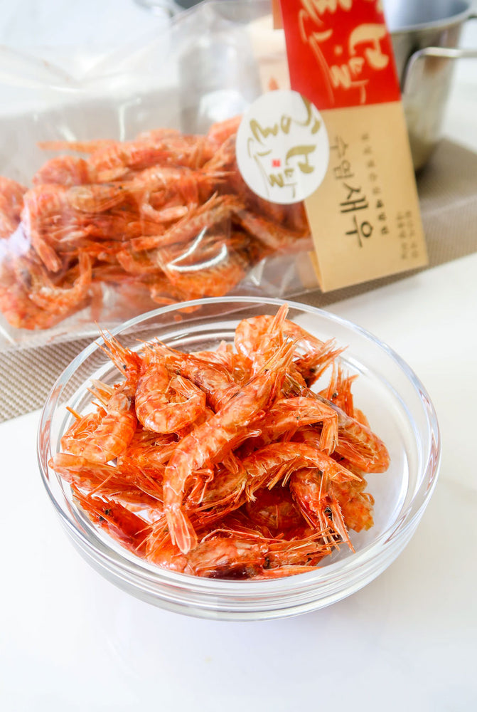 [Hae Marlin] Premium Dried Red Shrimp (2 Varieties)