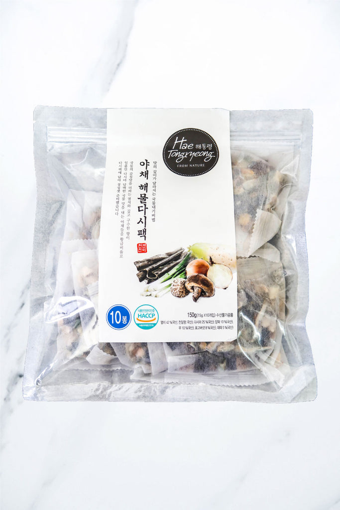 [Hae Tongryeong] Veggie & Seafood Dashima Broth Pack