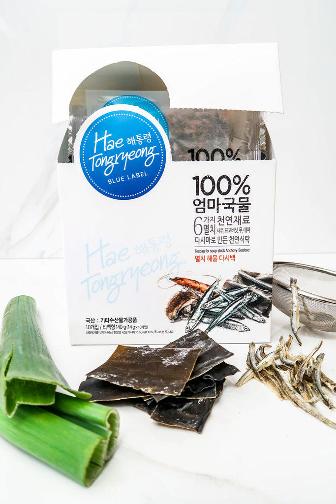 [Hae Tongryeong] 100% Mom's Seafood Broth Packs