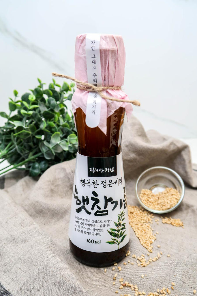 [Jirisan Chereum] Sun Grown Sesame Oil
