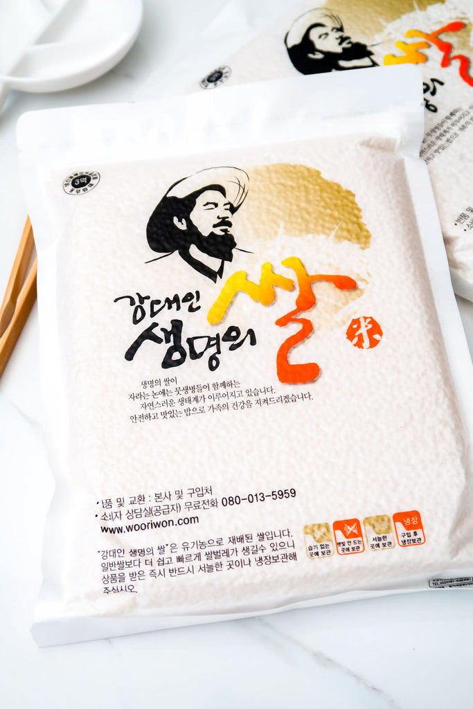 [Kang Dae In] Organic White Rice & Glutinous Rice