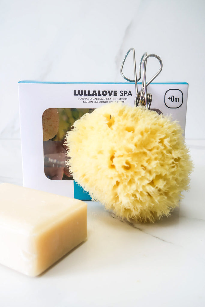 [Lullalove] Natural Sea Sponge For Body