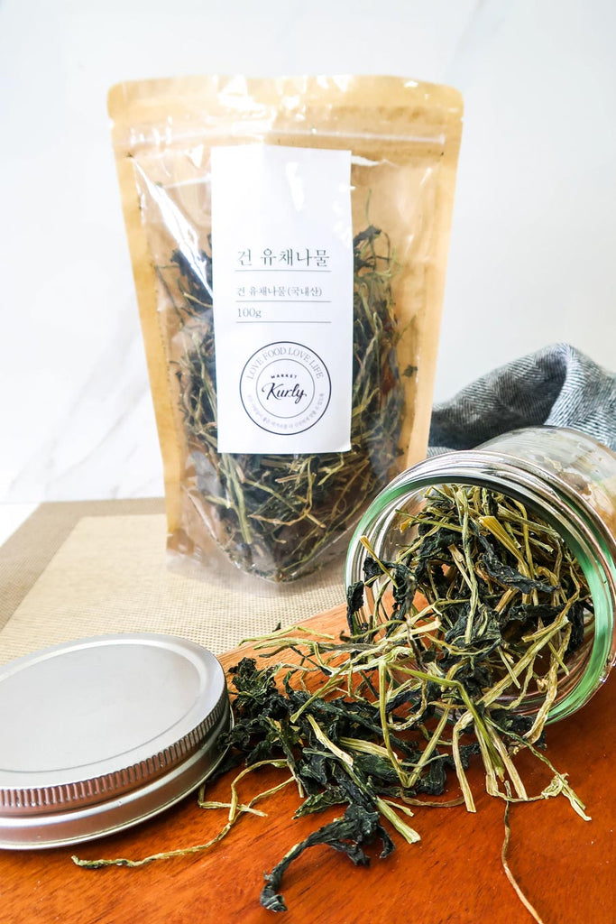 [Market Kurly] Dried Yuchae Leaves (Namul)