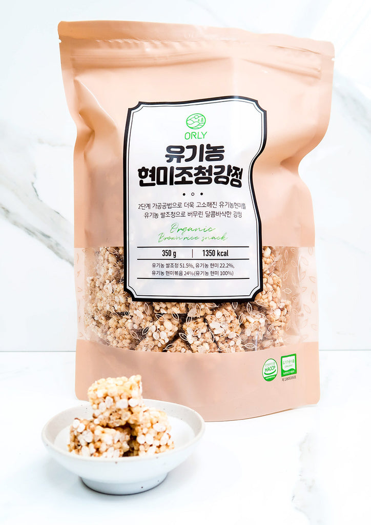 [ORLY] Organic Brown Rice Snack