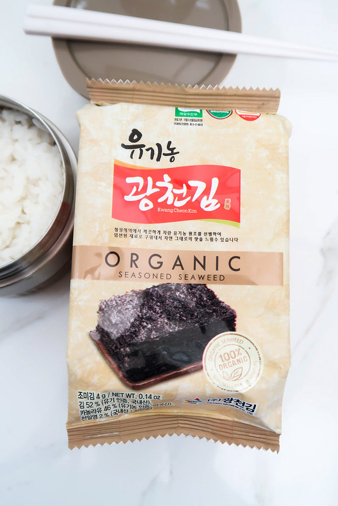 [Kwang Cheon Kim] Organic Seasoned Seaweed