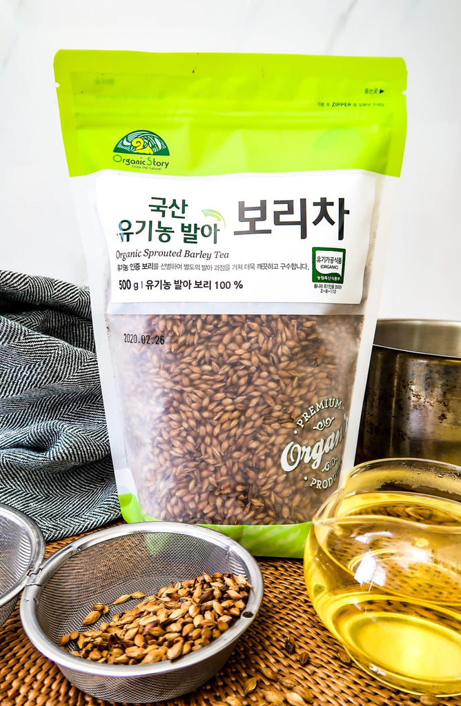 [Organic Story] Organic Sprouted Barley Tea