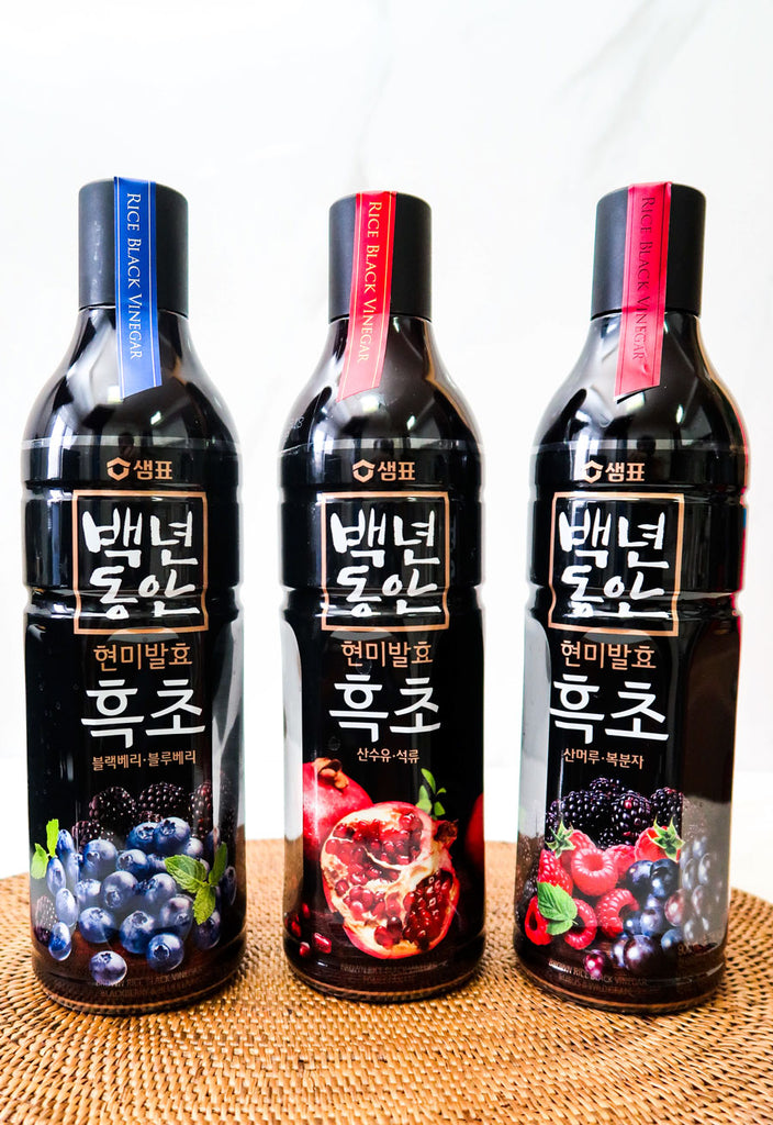 [Sempio] Black Vinegar Drink (3 Varieties)