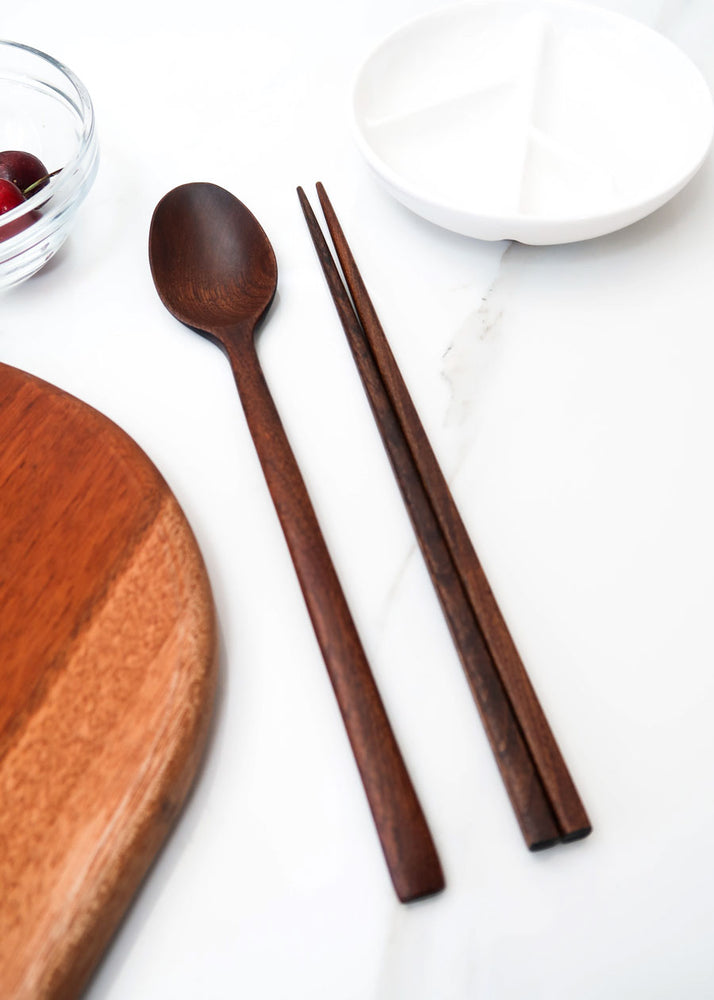 [Notdam] Korean Ottchil Wooden Chopstick Set - (2 Sets & 4 Sets)